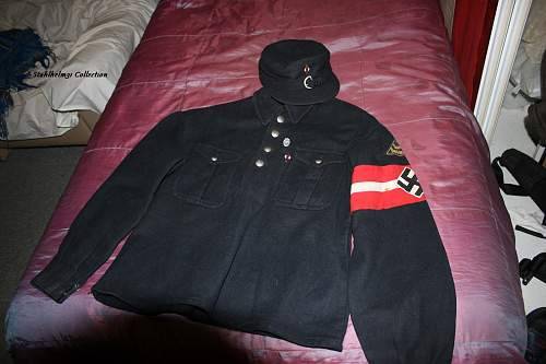 Hitler-jugend Winterbluse