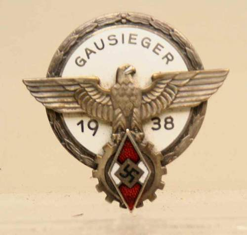 HJ Gausieger badge in silver- good or bad?