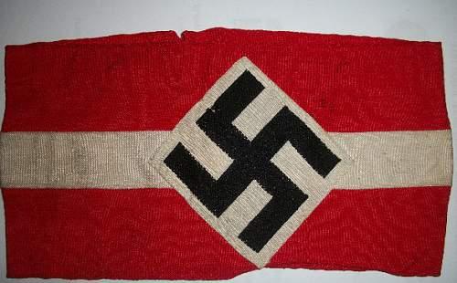 Hitler Youth Armband - Help!