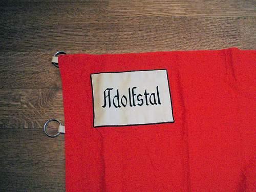 Volksdeutsche h j unit flag?