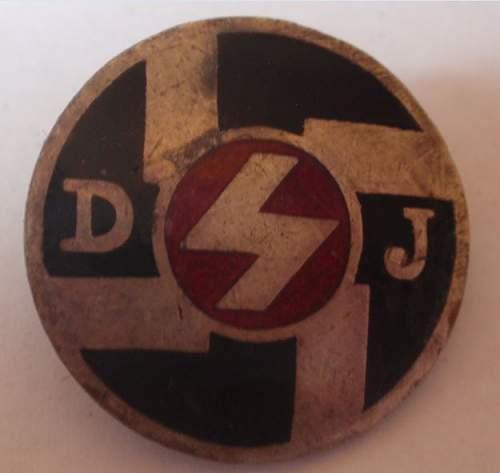 Click image for larger version.  Name:Hitler Jugend DJ 1.JPG Views:34 Size:37.1 KB ID:818595