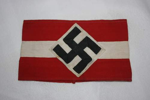Click image for larger version.  Name:Hitler youth armbands 5.00 each.JPG Views:69 Size:123.3 KB ID:827330