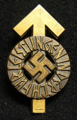 HJ Leistungsabzeichen In Bronze, or Gold?