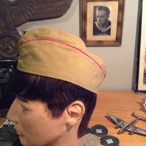 HJ cap (boat cap?)
