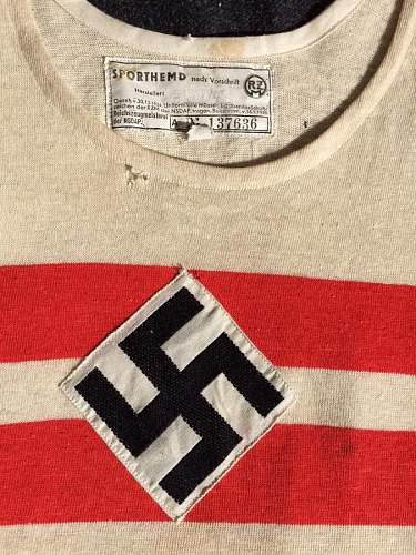 Hitler youth sport shirt