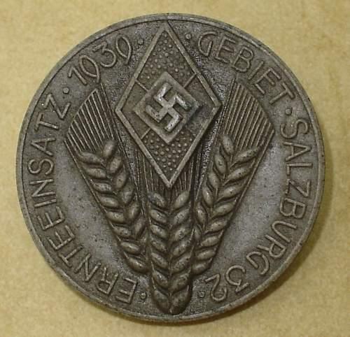 Ernteeinsatz 1939 Gebiet Salzburg 32
