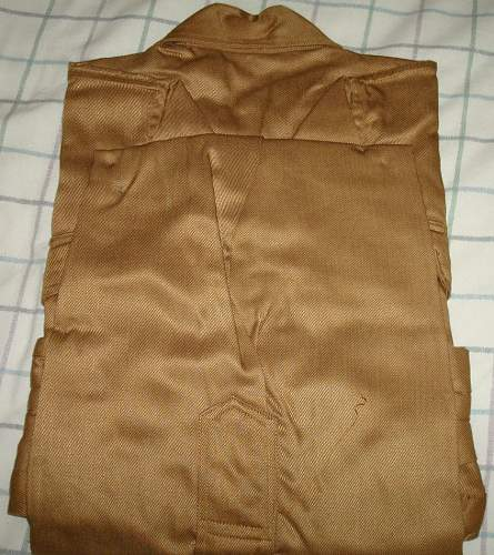 HJ Unissued Shirt, Still Folded...Is it the Real Deal??