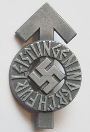 HJ Leistungsabzeichen In Schwarz