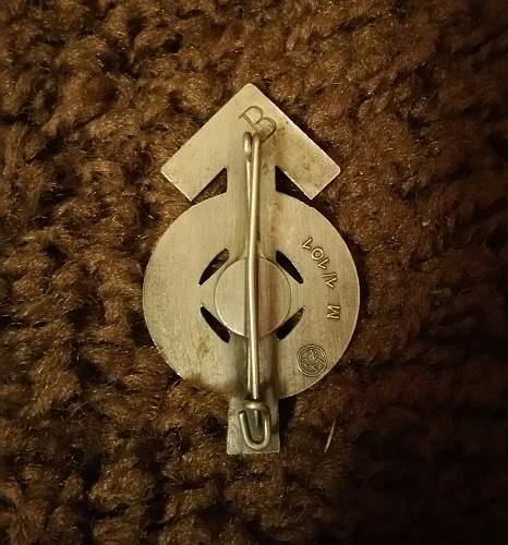 Leistungsabzeichen in Silber, new addition