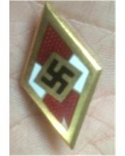 Golden Hitler Youth Badge of Honor Original?