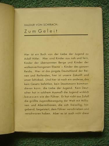 Click image for larger version.  Name:Jugend um Hitler book. 002.jpg Views:107 Size:155.9 KB ID:92623