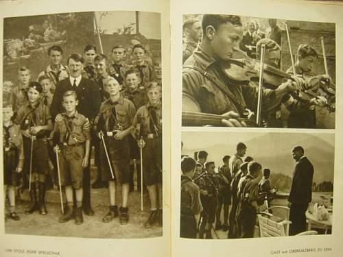 Click image for larger version.  Name:Jugend um Hitler book. 006.jpg Views:157 Size:146.4 KB ID:92625
