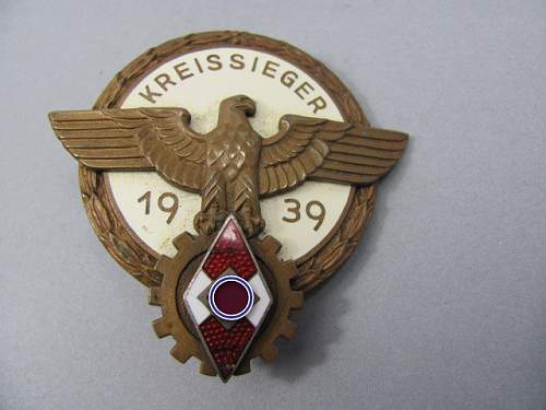 Need Help Kreissieger Badge real or fake