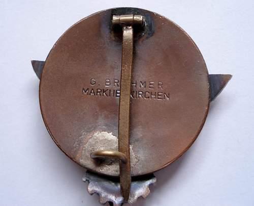 Kreissieger 1938 badge