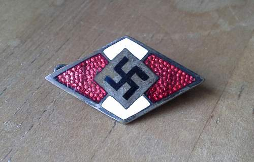 Hoffstatter membership badge