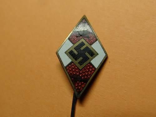 HJ Proficiency rune pin - RZM M1/34 badge