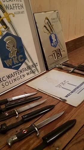 From Hammesfahr and WKC birdshead to Grawiso Mottoed transitional & WKC bowieblade HJ