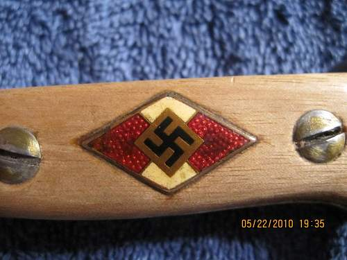 Dress Bayonet? Hitler youth? Fake?