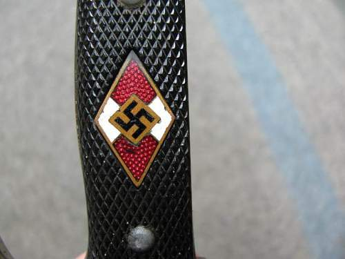 My New Hitler Jugend Knife, RZM M7/51/41!