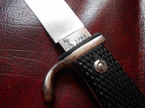 "EP&S "" Ernst Pack  HJ Knife"