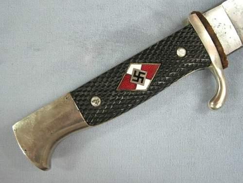 Hitler Jugend Knife: Fake or Original? A Couple Critical Points
