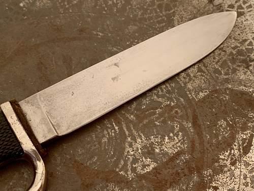 Hitler Youth Knife - C. Rudolf Jacobs