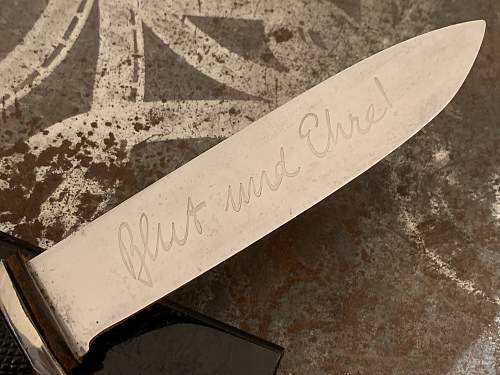 Hitler Youth Knife - C. D. Schaaff