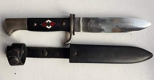 PLEASE HELP !! HJ transitional knife RzM m7/33 HOLLER Solingen