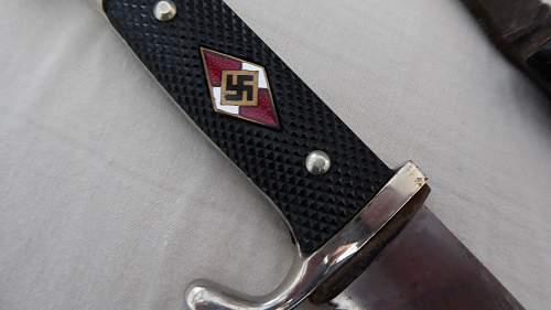 Early thinblade HJ knife by Klaas