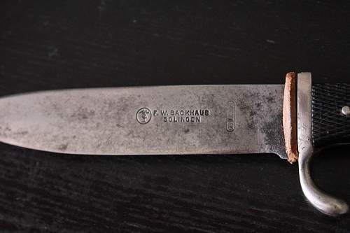 F.W. Backhaus HJ Knife