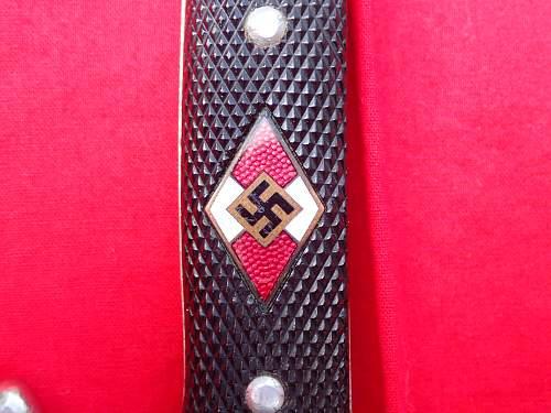 Hitler Jugend M7/51 Anton Wingen help please