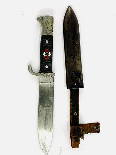 HJ Knife help needed. Please Is this knife authentic?