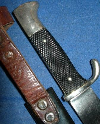 HJ dagger with motto. Real or fake