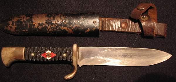 3 HJ Knives