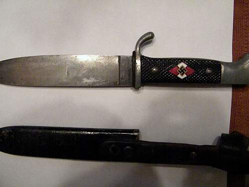 Need info on a new Hitler Youth Knife purchase