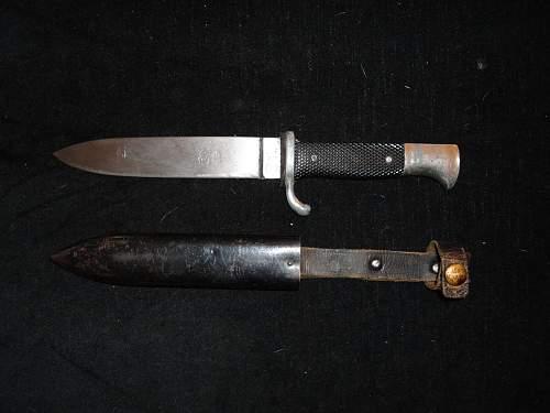 My new HJ knife