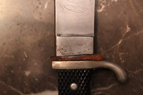 Hitler youth dagger real or fake