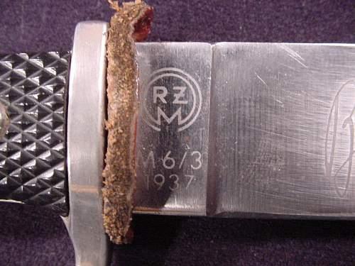 HJ knife M6/3 1937