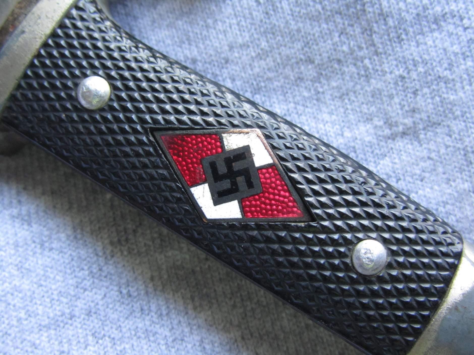 Rzm M7 2 1938 Emil Voos Waffenfabrik Hitler Youth Dagger