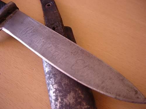 German NSDSTB student youth knife