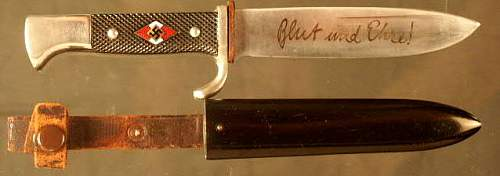 H.J. knife or rally token?