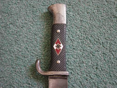 Click image for larger version.  Name:Hitler Youth dagger 005.jpg Views:1258 Size:253.5 KB ID:41547