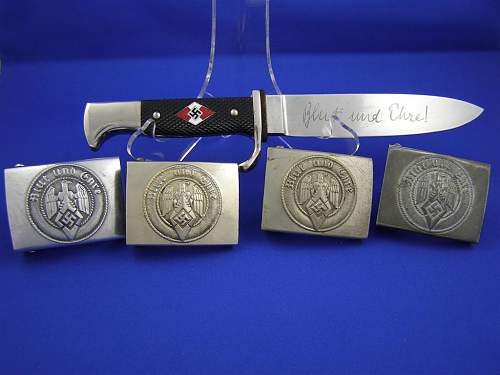 Click image for larger version.  Name:HJ knife & buckles.JPG Views:46 Size:85.9 KB ID:434361