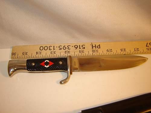 HJ knife  SM 1940