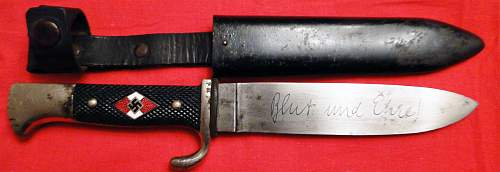 Transitional HJ Knife,, need information