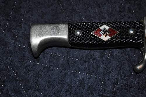 HJ  knife, repaired?