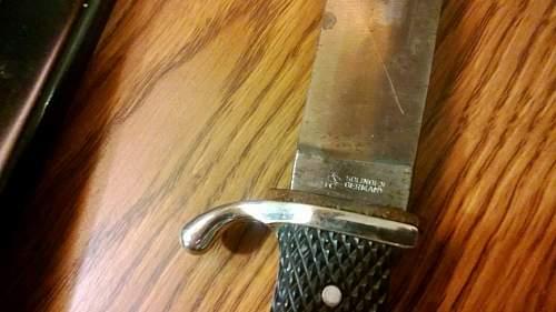 hitler youth knife hallmarks