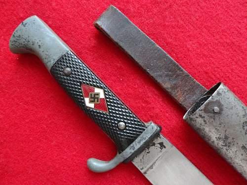 HJ knife by W.K.C.