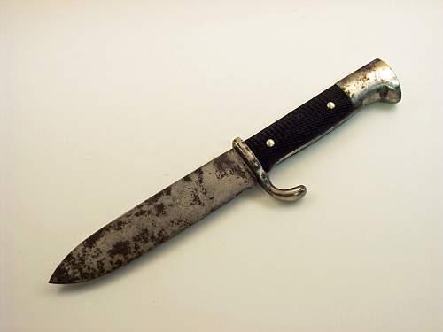 My HJ Knife!