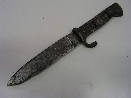 RESTORATION of HJ knife - MUST SEE